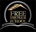 Free Broker School Mobile Logo