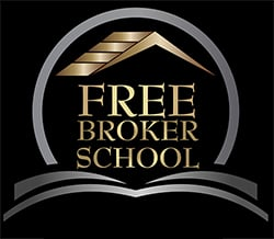 Free Broker School Logo