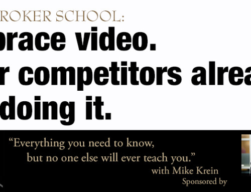 Video for Real Estate Farming: Embrace it. Your Competitors are