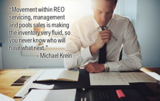 If you are not getting enough REO listings, odds are you are out of touch and not marketing to and/or registering with enough REO clients.